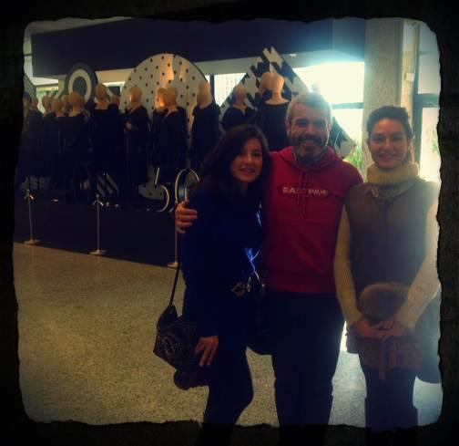 Carola Vintage y Alejandra de Renovarseomorir con LC en Feria Vintage Moda Shopping