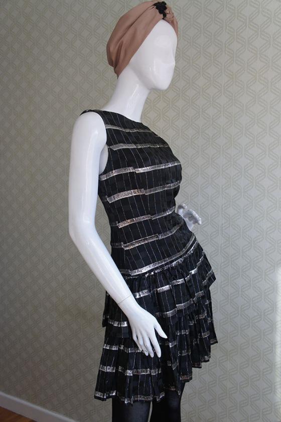 Carola Vintage black & silver