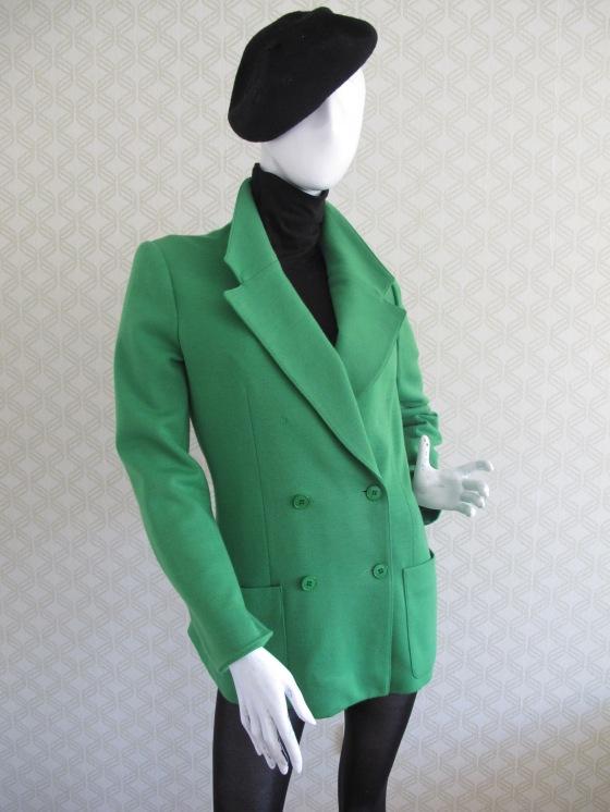 French Kiss con blazer 70's Rodier en lana fría