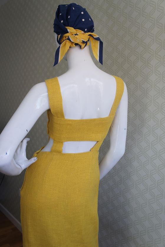 Carola Vintage ocre