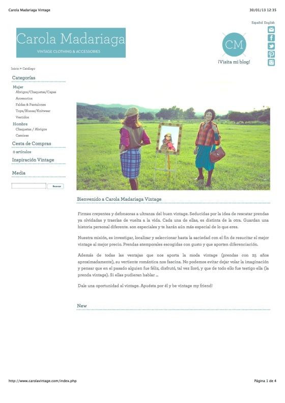 Carola vintage web
