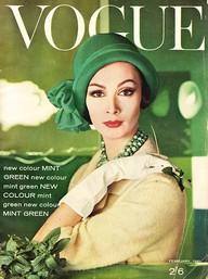 Portada Vogue 1958