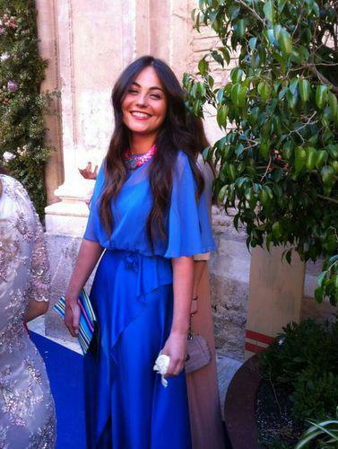 2bcea0059c Chal para vestido azul klein - Vestidos formales