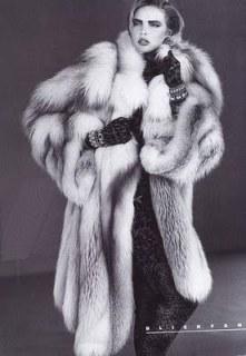 80s vintage fur